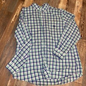 Men's XL chaps button up long sleeve